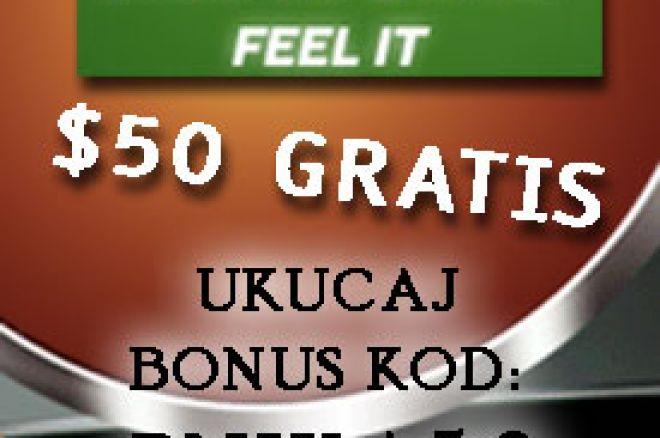 Otvori račun na PartyPoker-u preko pokernika.com i preuzmi $50 za igru, bez depozita! 0001