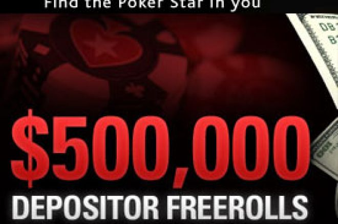 $500,000 Depositor Freerolls 0001