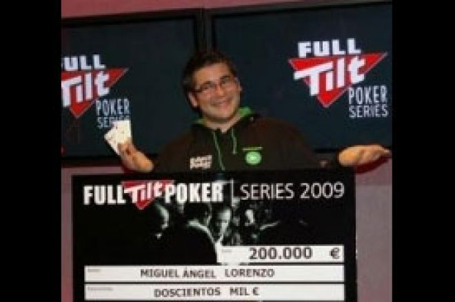 Miguel Ángel Lorenzo pobedio na Grand Final na Full Tilt Poker Series 0001