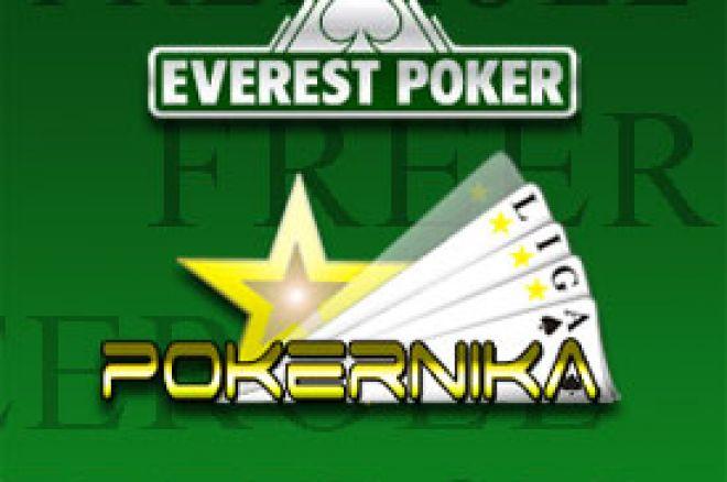 $50 Freeroll na Everest Pokeru - Četvrtak 24. - LIGA za Decembar 0001