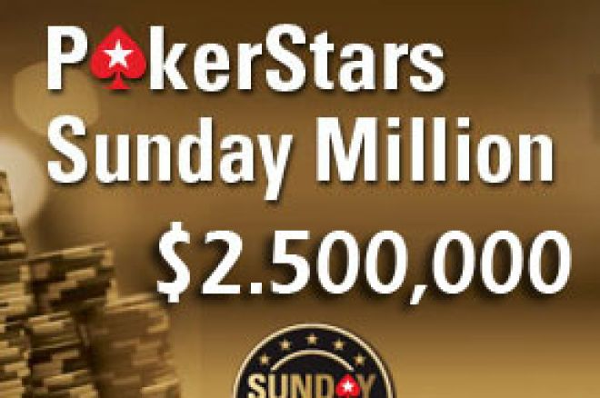 PokerStars daje $1 Milion pobedniku Sunday Million Turnira 0001