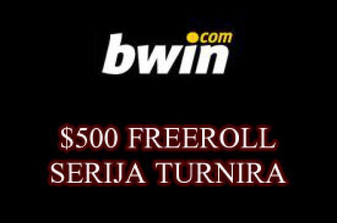 Serija $500 freeroll turnira na Bwin Pokeru 0001