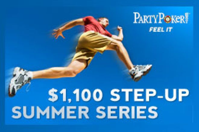Party Players Step-Up do $1.000 Freeroll Main Eventa 0001