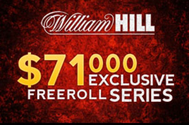 Kvalifikacije za naredni $20.000 FREEROLL na William Hill Pokeru u toku!!! 0001