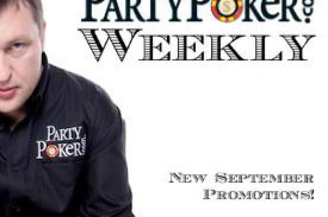 PartyPoker Nedeljnik: WPT London, Tony izigrava miroljubca i Snowball $5.000 promocija 0001
