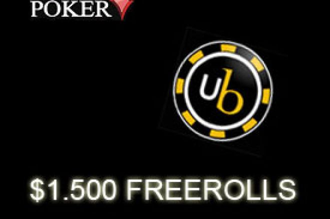 Eksluzivna UB - Absolute Poker serija freeroll turnira sve do kraja Decembra! 0001