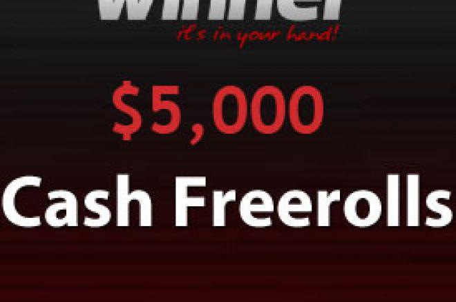 $5.000 Finalni Freeroll u našoj Winner Poker Seriji - Jednostavne kvalifikacije se... 0001