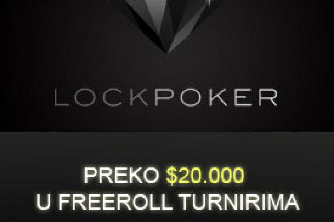 Preko $20.000 u Ekskluzivnim Freerolls na Lock Pokeru: No depozit freeroll sutra & $2.500... 0001
