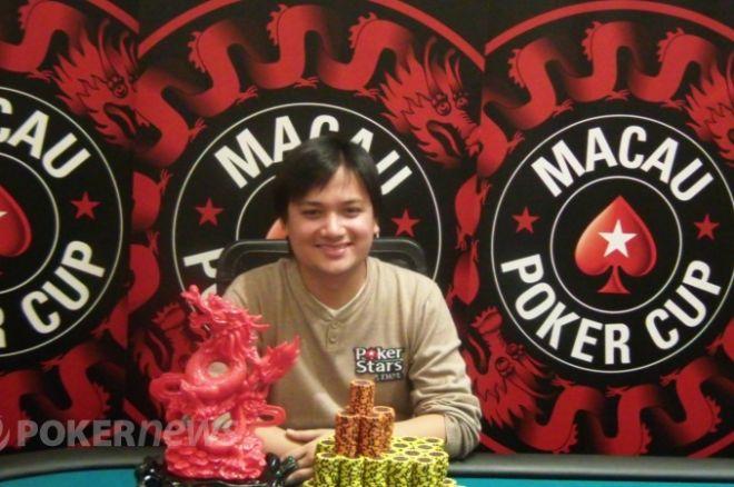 Macau Poker Cup의 우승자 Mark Benosa 0001