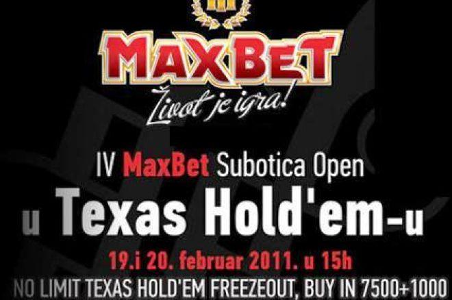 MaxBet Subotica Open IV 0001