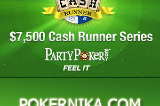 PartyPoker Cash Runner Freeroll Serija se proširuje sa Ekskluzivnim Party Points... 0001
