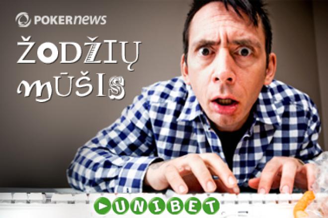 Pirmadienį startuoja Unibet ir PokerNews LT žodžių mūšis 0001