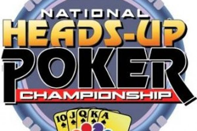 National Heads Up Championship의 라운드 1 끝 0001