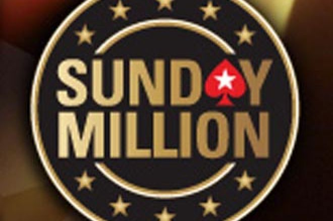 Elkobozták a Sunday Million 6. helyezettjének nyereményét 0001