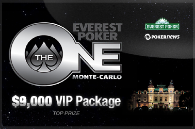 Ekskluzīva $9,000 Everest Poker One Monte Karlo turnīru sērija aizsargāta ar parolēm 0001