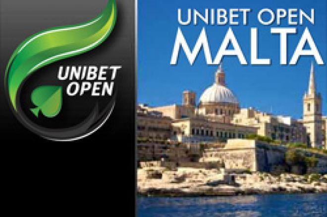 Podsumowanie dnia 1B Unibet Open Malta 0001