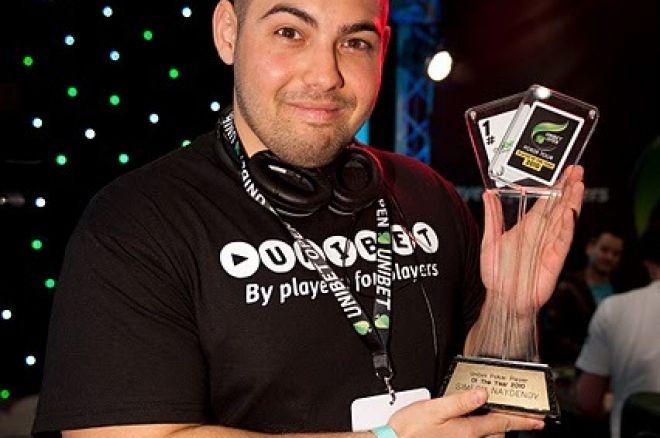 Симеон Найденов Играч на годината Унибет Опън 2010
