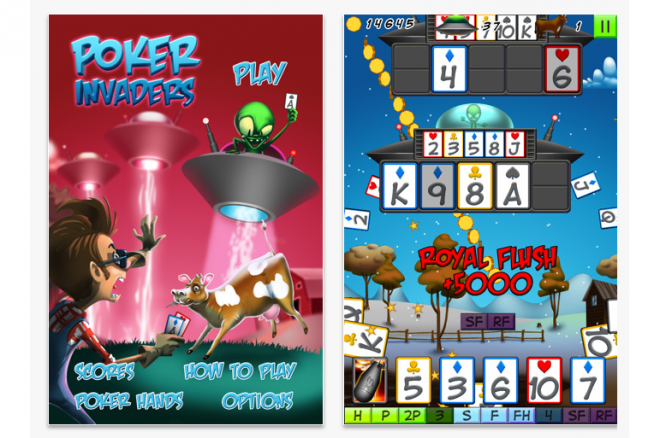 poker invaders
