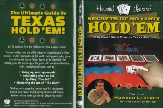 Pokera grāmatas: Howard Lederer - Secrets of No Limit Hold'em 0001