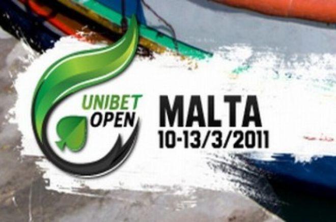 Результаты тотализатора Unibet Open Мальта 0001