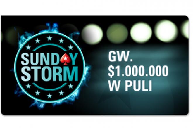 PokerStars uruchamia Sunday Strom + Kod bonusowy na darmowy bilet 0001