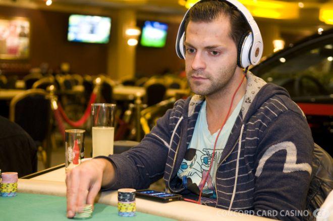 Hummel Zoltán a Spring Poker Festival döntő asztalán 0001