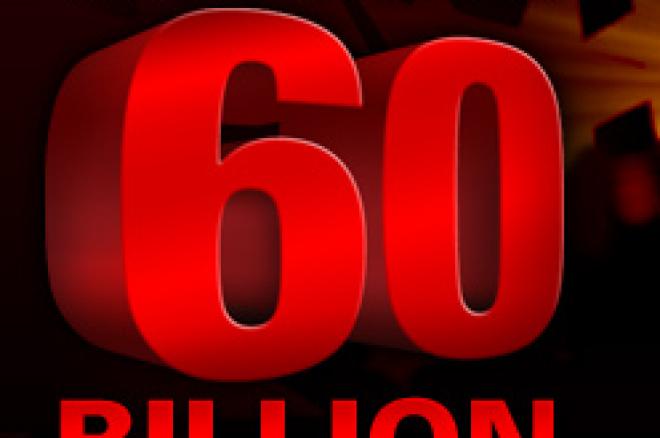 扑克之星600亿手促销开始,幸运玩家可获60,000大奖 0001