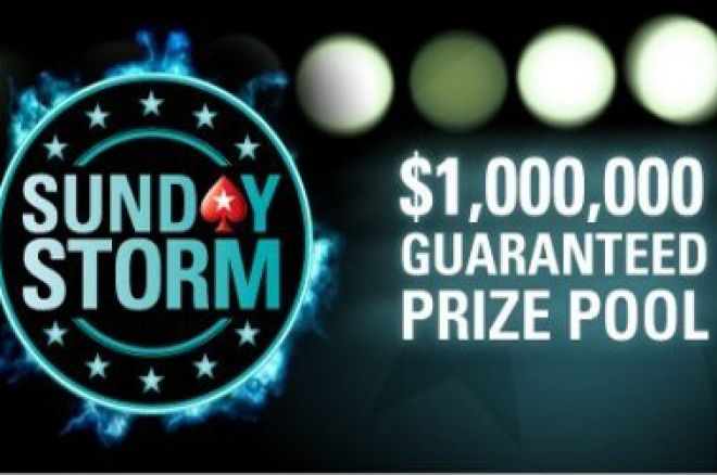 PokerStars Sunday Storm $1M GTD
