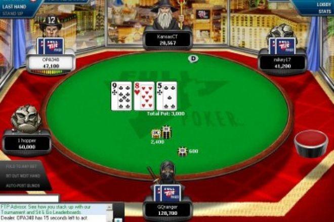 Hrajte s PokerNews: Tento týden 1 turnaj naší Ligy 0001