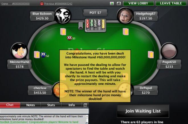 Pogo650 взе над $100K от 60 милиардната ръка в PokerStars 0001