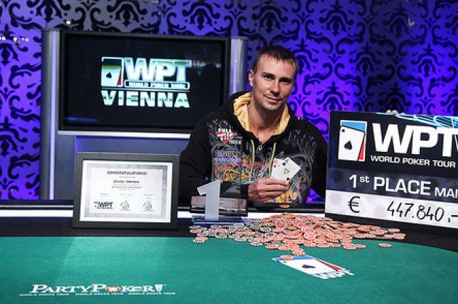 Дмитрий Громов - победитель этапа WPT Вена! 0001
