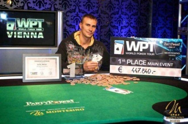 Dmitry Gromov nyerte a World Poker Tour Bécs főversenyét 0001
