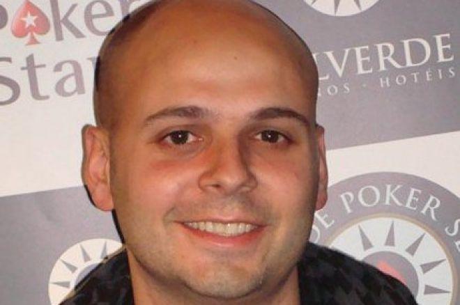 O chipleader do Dia 2 do PokerStars Solverde Poker Season é Diogo Cardoso! 0001