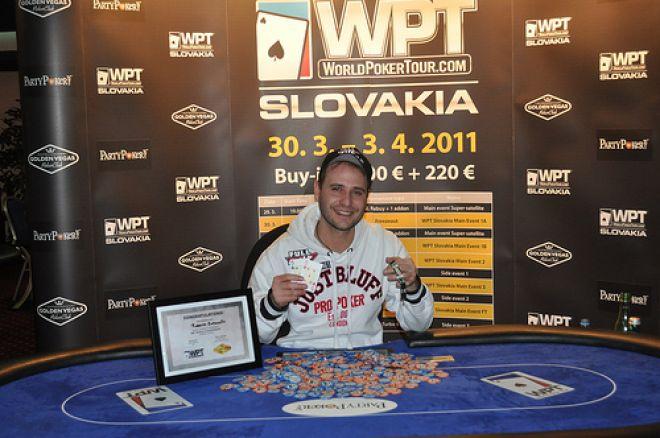 Roberto Romanello vyhrál WPT Bratislava 0001