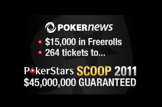 PokerNews SCOOP freerolls