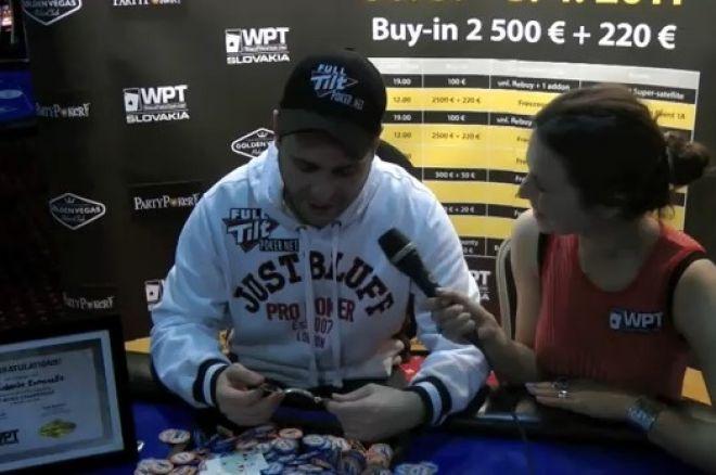 Full Tilt Poker签约牌手Roberto Romanello距三冠王仅一步之遥 0001