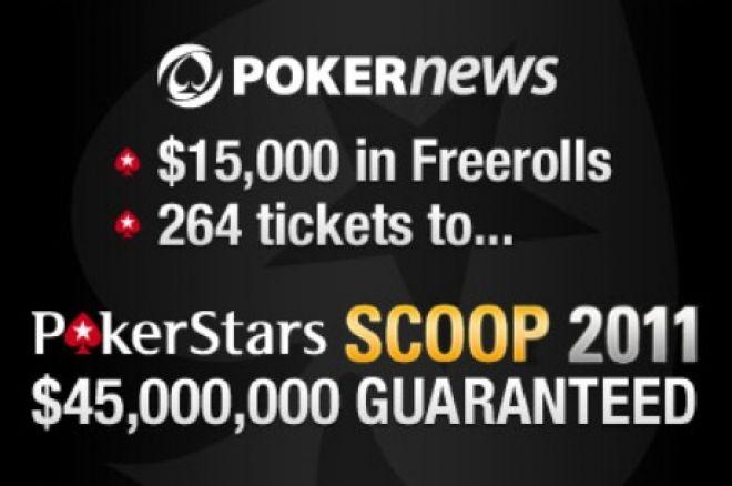 Con PokerNews a las SCOOP de PokerStars