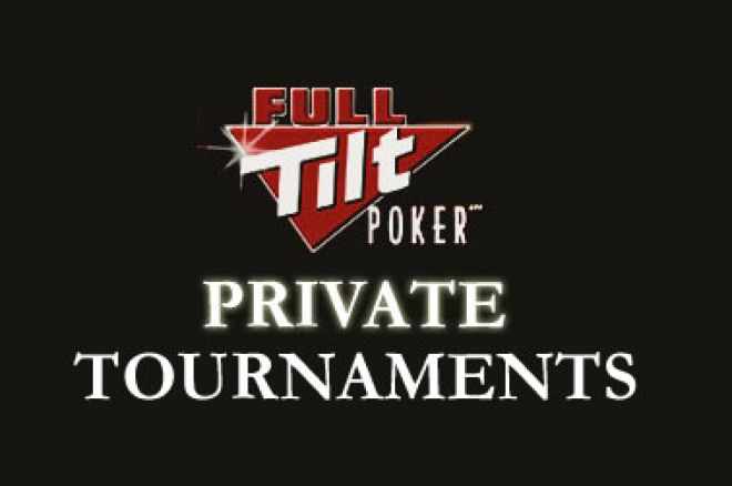 Full Tilt Poker lansirao Privatne Turnire 0001