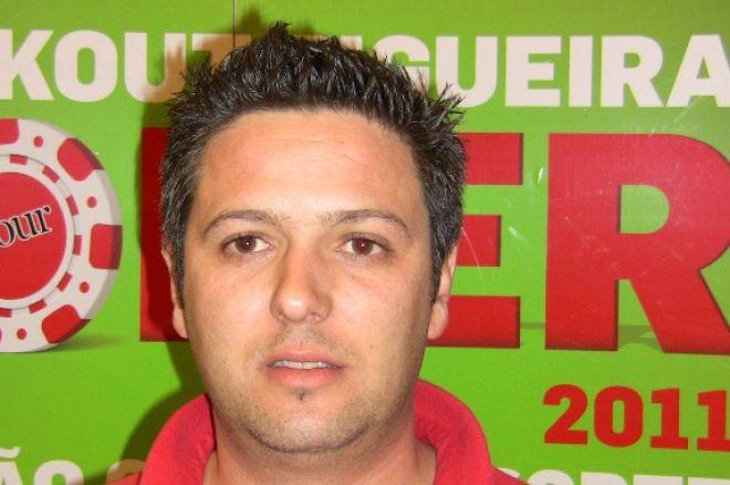 Paulo Telinhos é o chipleader do Dia 1 do KO Figueira Poker Tour 0001