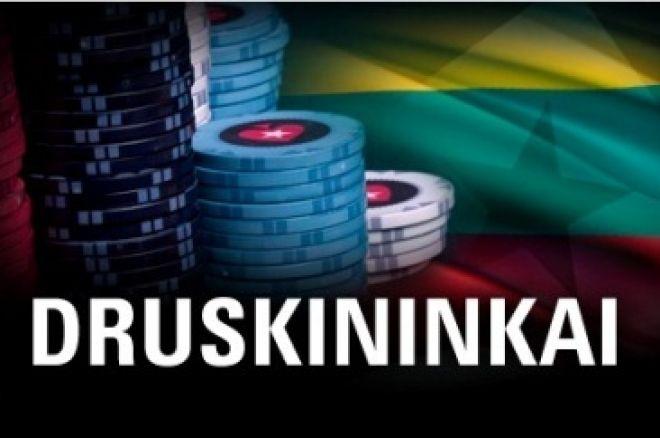PokerStars.net atrankiniai turnyrai į Druskininkų vasaros čempionatą 0001