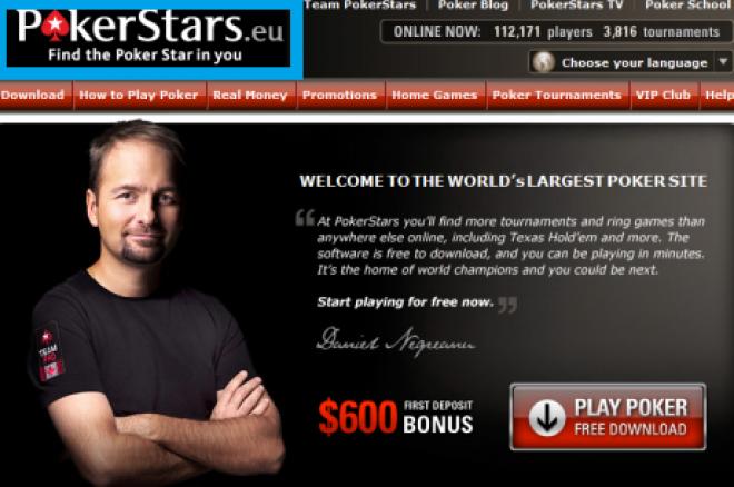 Прес съобщение: PokerStars.com е преместен на PokerStars.eu 0001