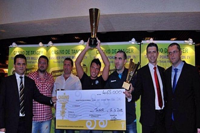 """Óscar """"La Púa"""" Blanco se proclama ganador de la cuarta edición del Tanger Poker... 0001"""