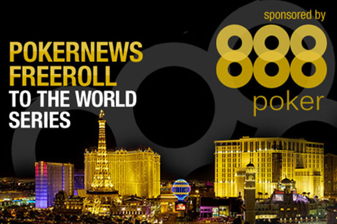 PokerNews aizsūtīs tevi uz WSOP ar 888 Poker! 0001