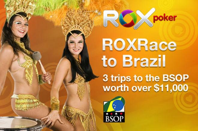 PokerNews ekskluzīvā ROX gonka ir sākusies - Izspēlēsim 3 braucienus uz Brazīliju! 0001
