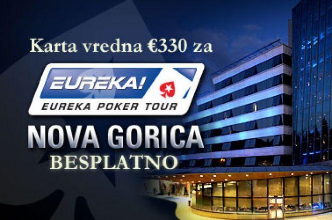 Šta kažete na besplatnu kartu vrednu €330 za Eureka Poker Tour turnir? 0001