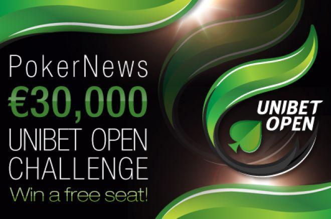 PokerNews €30,000 vertės Unibet Open iššūkis jau šiandien! 0001