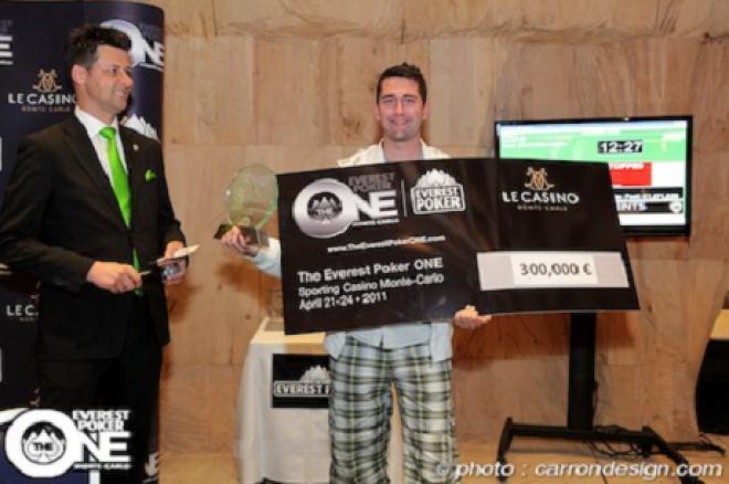 Julian Kabitzke vant Everest Poker ONE 2011 0001