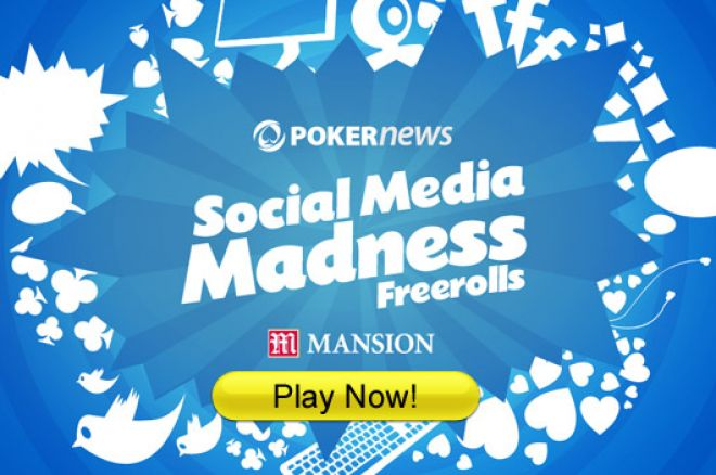 Juega el segundo freeroll de la liga PokerNews Social Media Madness 0001