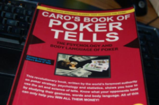 "Knygų lentyna: ""Caro's Book of Poker Tells"" 0001"
