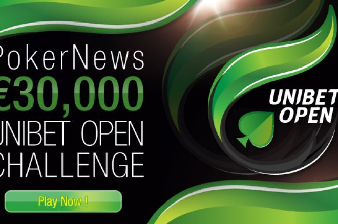 €1.000 Unibet Open Freeroll - Enda tid for kvalifisering 0001